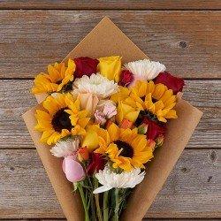 Mix flores - girassóis
